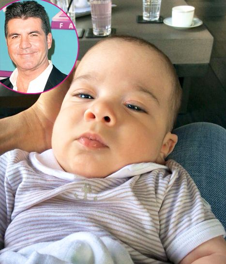 Simon Cowell shared sweet photos of his 3-month-old baby boy Eric