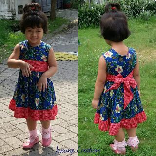 Jiyoungi creations: dress free pattern (pola gratis)