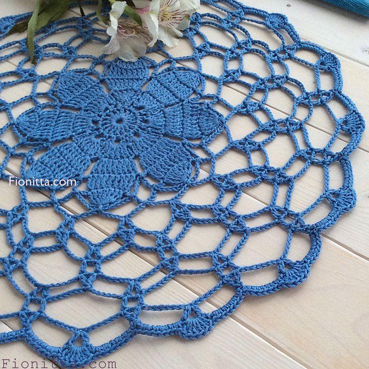 November Doily     Fionitta crochet