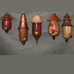 263 best Christmas ornaments: turned wood images on Pinterest ...