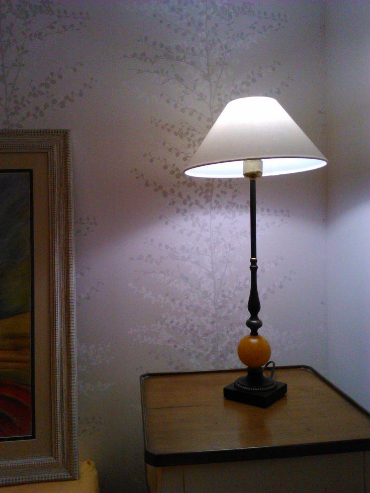 Papel pintado blanco y beige suave y elegante - Papel pintado elegante ...
