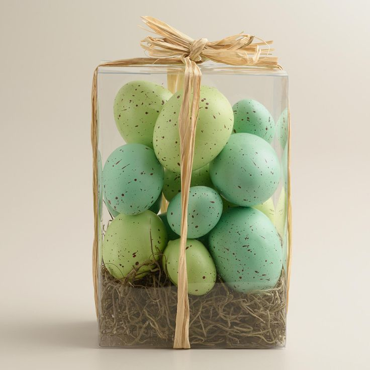 368 best be a better bunny images on pinterest baby bunnies packaged in clear box with a raffia tie this festive baker dozen of speckled blue and green easter eggs makes a perfect hostess gift or seasonal decor negle Images