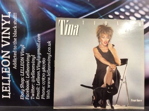 Tina Turner Private Dancer LP Album Vinyl Record EJ2401521 Pop 80's EMI Music:Records:Albums/ LPs:Pop:1980s