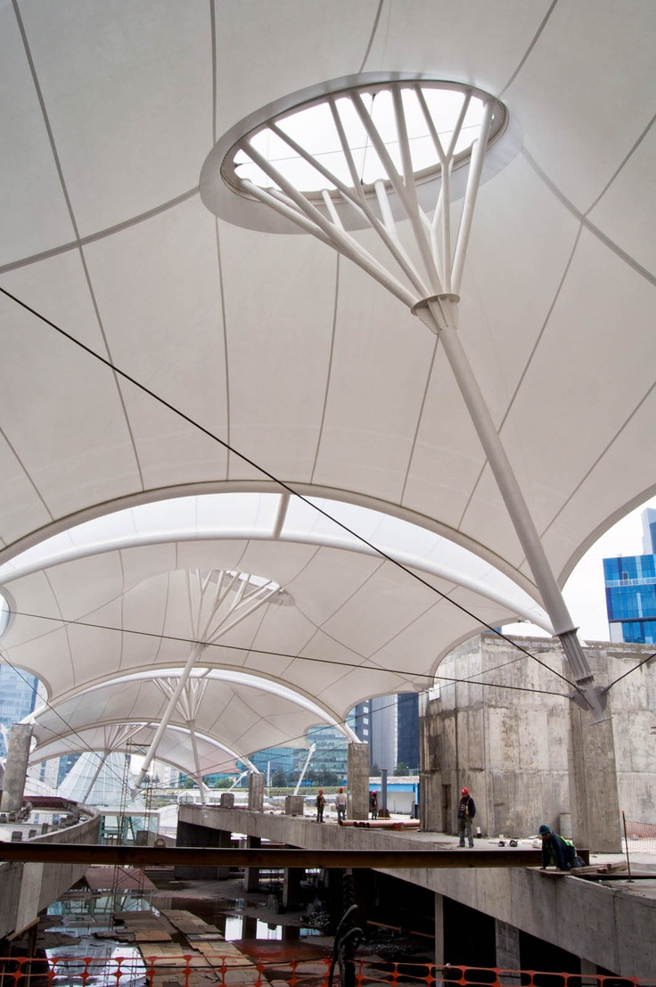 Outstanding Achievement Award for tensile structures 600-2300 sq.m: Santa Fe