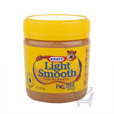 Light Smooth Peanut Butter – Kraft – 375g | Shop Australia