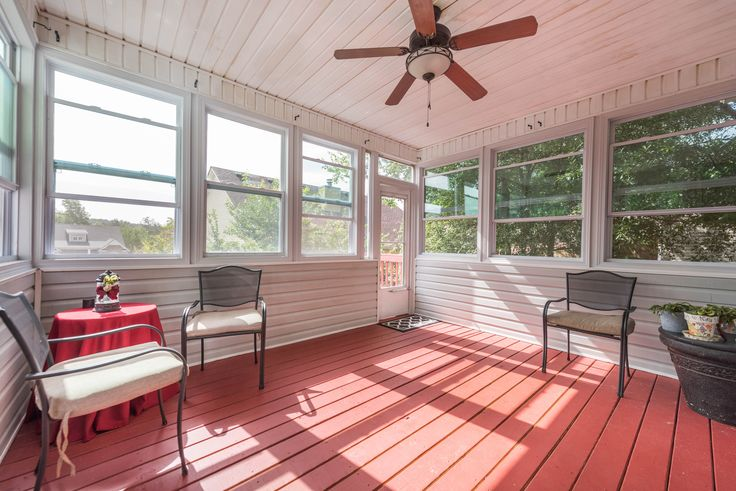 Summer time is here! Which means its time to enjoy the weather!    Why not own a home that has a three season porch?    Contact Chris Johnson for information on this beautiful listing.      #3SeasonPorch #SummerTime #OutdoorLiving