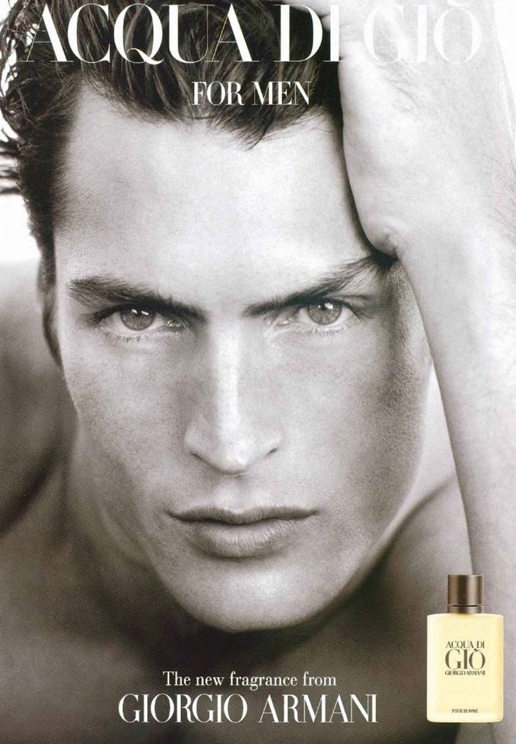 Larry Scott Back in the '00s, you couldn't walk down the block or flip through a magazine without spotting Scott's gorgeous face. His Acqua di Gio campaign was everywhere. Still modeling to this day, Scott's work in front of the camera informs his second job—as a photographer.