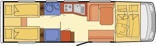 Wohnmobil Dethleffs Globetrotter XL I 7850-2 EB - 2xTV/SAT/CAM/KLIMA/++ - ID: AVHC1930006 #Dethleffs #Globetrotter XL #I 7850-2 EB #Wohnmobil - Caravans - Wohnwagen & Reisemobile