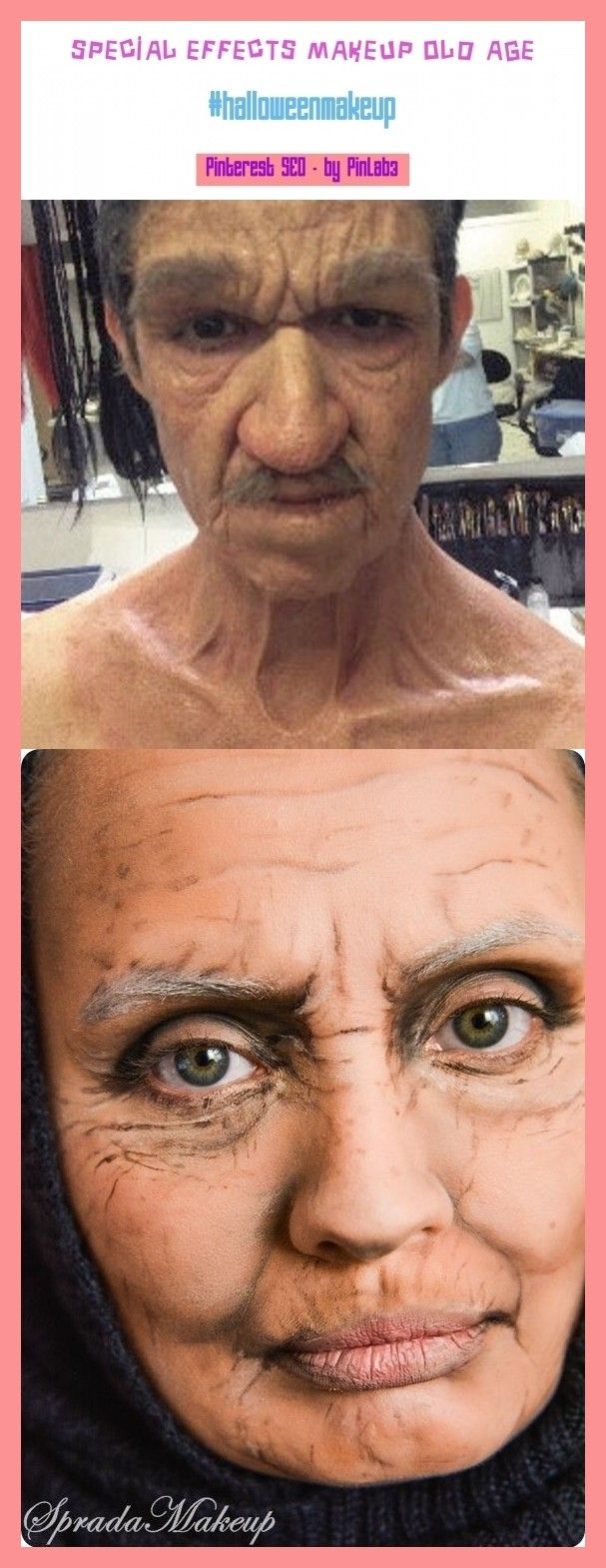 Special effects makeup old age special effects makeup