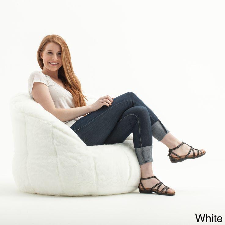 Comfort Research BeanSack 'Big Joe Milano' Faux Fur Bean Bag Chair (