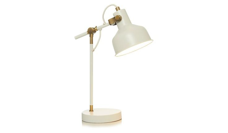 George Home Cream Desk Lamp, read reviews and buy online at George at ASDA. Shop from our latest range in Home & Garden. Contemporary and stylish, this moder...