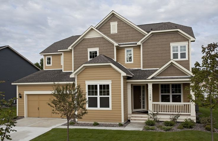 Outside Elevation but garage right | For the Home