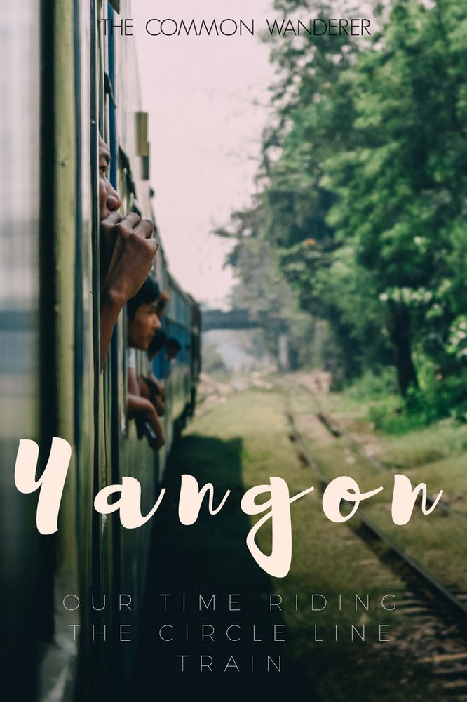 Riding the Yangon circle line train offers a glimpse into traditional Burmese life, while providing a window into it's fast-paced future. Jump aboard!  Yangon   Myanmar   Burma   Yangon Circle Train   Trains in Myanmar   Trains in Burma   train travel Myanmar   Train travel Yangon   Things to do Yangon  