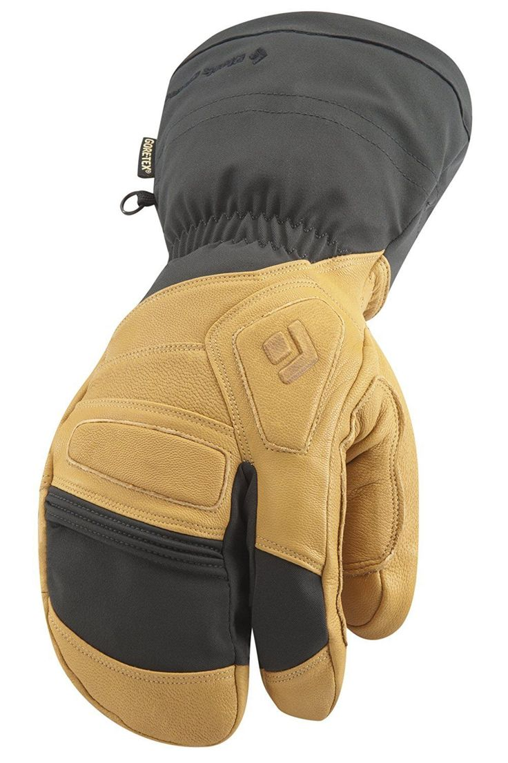 Mens leather gloves rei - Gloves And Mittens 62172 New Black Diamond Guide Finger Mens Ski Snowboard Lobster Mitt