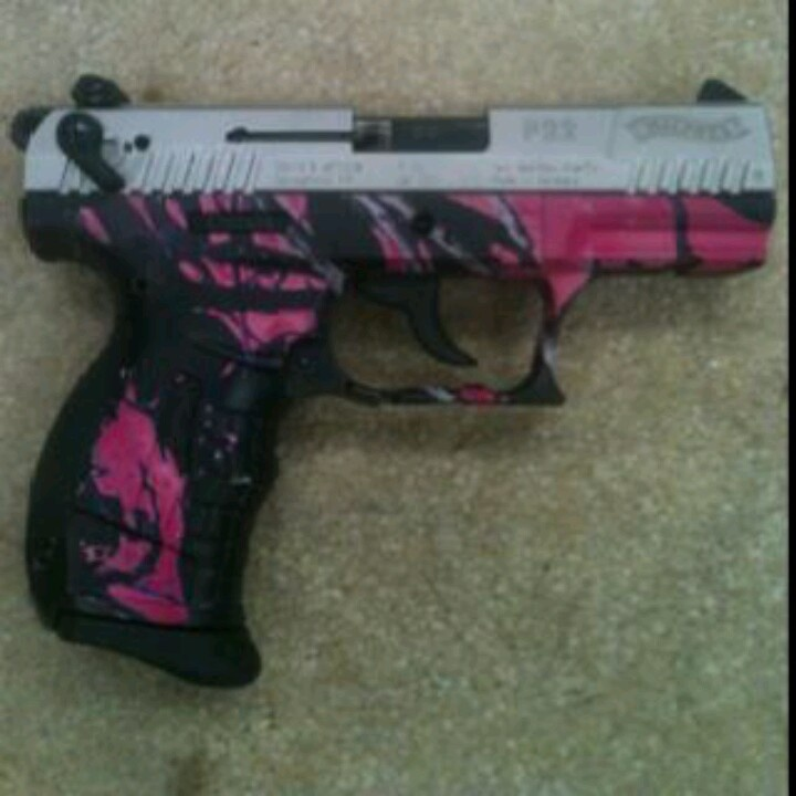 Little bit of don't mess with me in pink and black