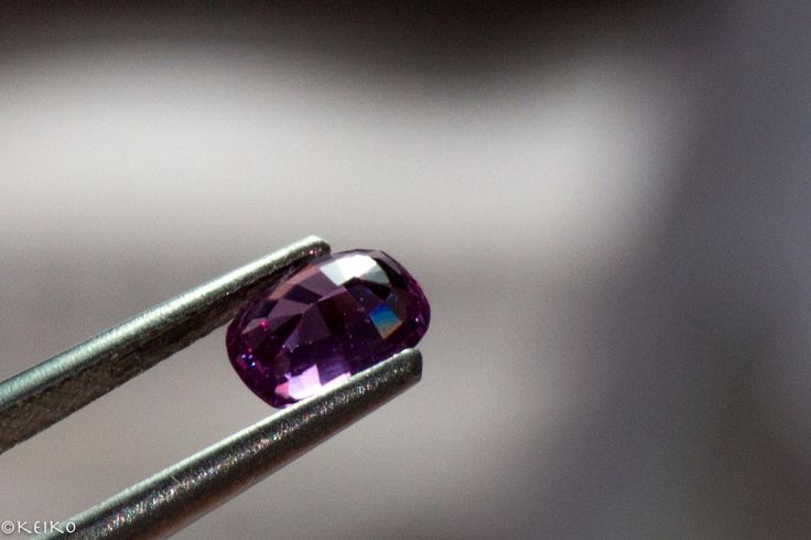 Step cut #srisrisapphire #purplesapphire #sapphire #gems #jewellery #srilanka #japan #australia