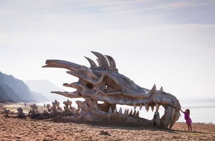DragonSkull4 for Video On Demand company Blinkbox in the UK via Mashable Beach as media - a platform for imagination and wonder.