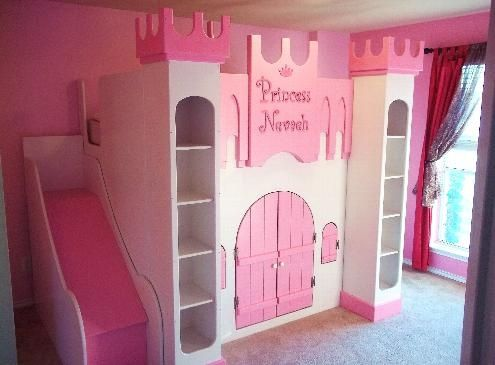 Unique Castle Toddler Beds For Girls