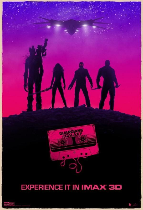 """Pôster IMAX do filme """"Guardiões da Galáxia"""" http://cinemabh.com/imagens/poster-imax-do-filme-guardioes-da-galaxia"""