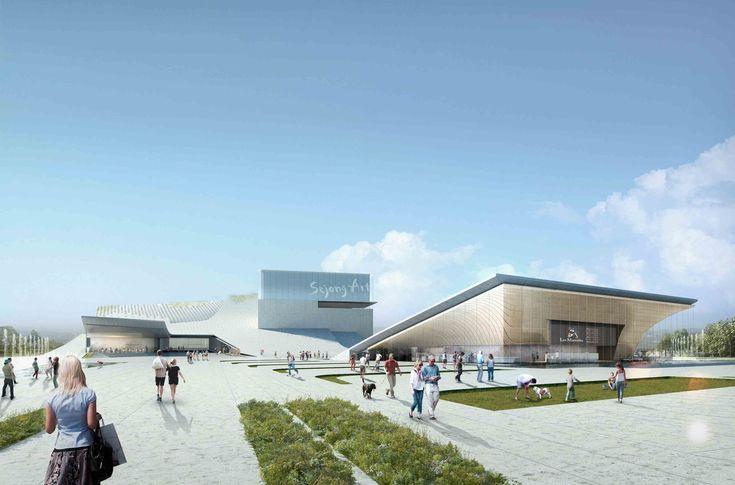 Gallery - Sejong Art Center Winning Proposal / DMP Partners - 12
