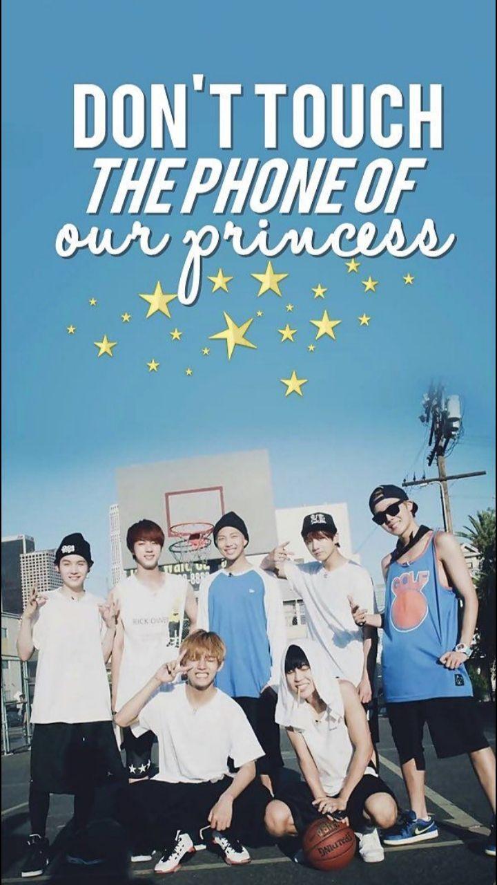 Wallpapers Kpop Bts Wallpaper Wallpaper Kawaii Wallpaper Bts wallpaper dont touch the phone of our princess