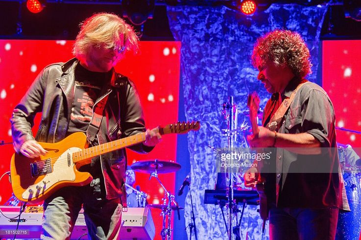 Daryl Hall and John Oates of Hall and Oates performs during the Life Is Good Festival 2013 at Prowse Farm on September 21, 2013 in Canton, Massachusetts.