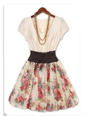 Southern bell spring dress
