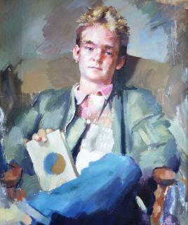 Portrait by Robert Lenkiewicz