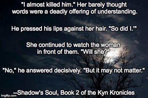 Meme for Shadow's Soul: Bk 2 of The Kyn Kronicles