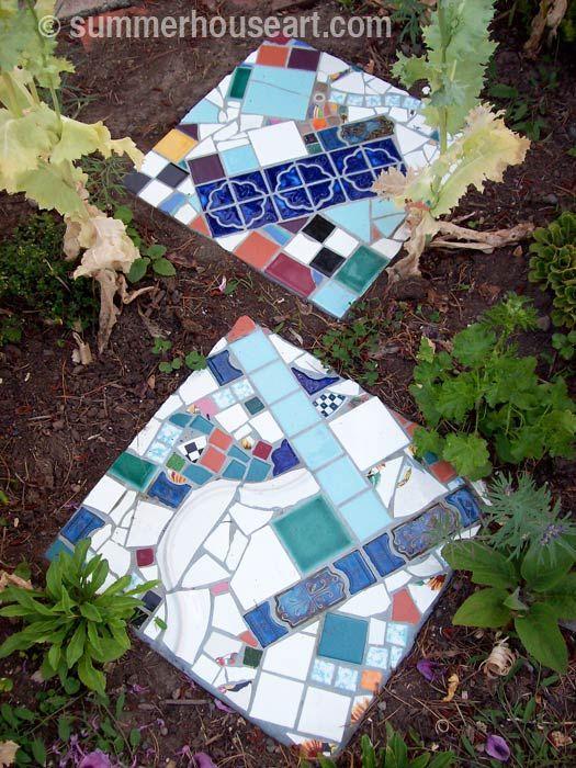 157 mejores im genes sobre mosaicos en pinterest pared for Mosaicos para jardin
