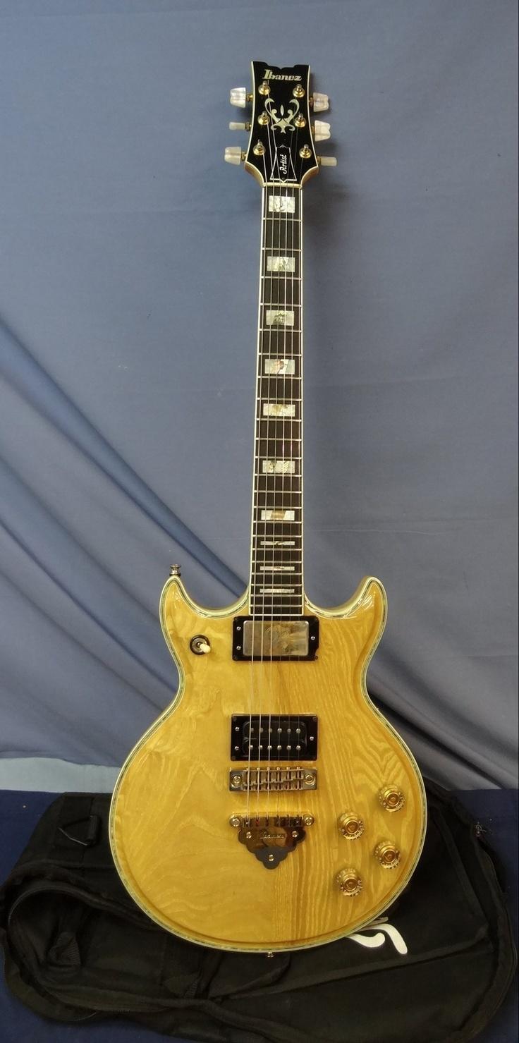 dating ibanez artist guitars