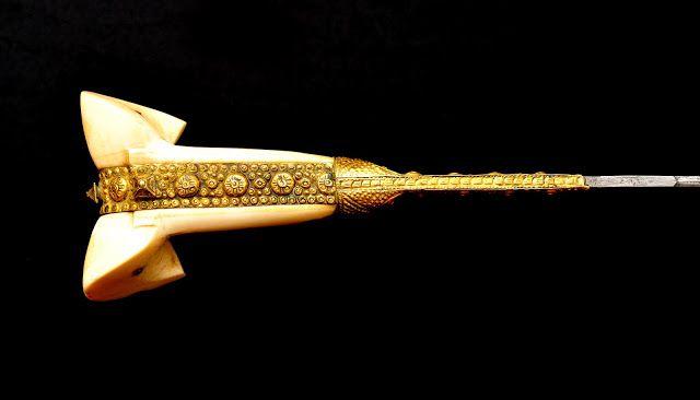 Collection de Sabres et Epées des Guerres Napoléoniennes: Yatagan Ottoman 1855 Souvenir de la Guerre de Crimée