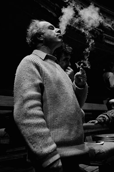 Peter Brook, Paris, 1981 (Photo: Dereck Hudson)