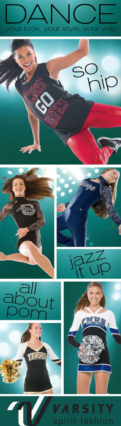 Your look. Your style. Your way. Varsity Dancewear has the perfect unique design for your dance team style and fashion! Call your local Varsity rep & start planning your dream design today! http://www.varsity.com/publications/VSF-Dance-2014.html