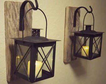 Lantaarn 2, lantaarns, Decor van het huis, serviesje, rustieke Home Decor, nautische Decor, nautische muur Decor, badkamer Decor, het Decor van de boerderij