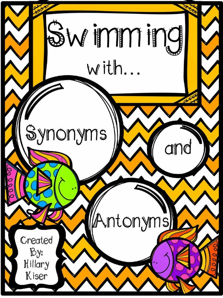 Adventures of Teaching: Swimming with Synonyms and Antonyms *Blub Blub*