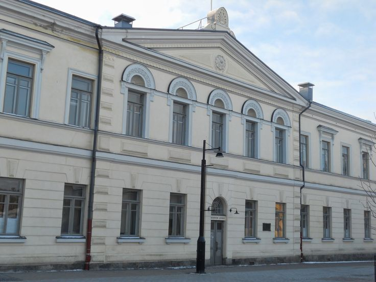 Kuopion Lyseon lukio is an upper secondary school for students aged 15–19. Originally established as a boys' school in 1872, Kuopion Lyseo opened its doors to both sexes in 1977. The school building from 1826 is designed by Carl Ludvig Engel.