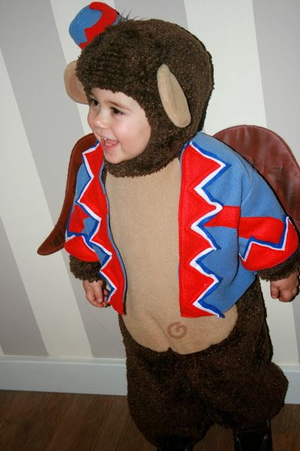 Flying Monkey toddler Halloween Costume on ohgraciepie: I'll get you my pretty