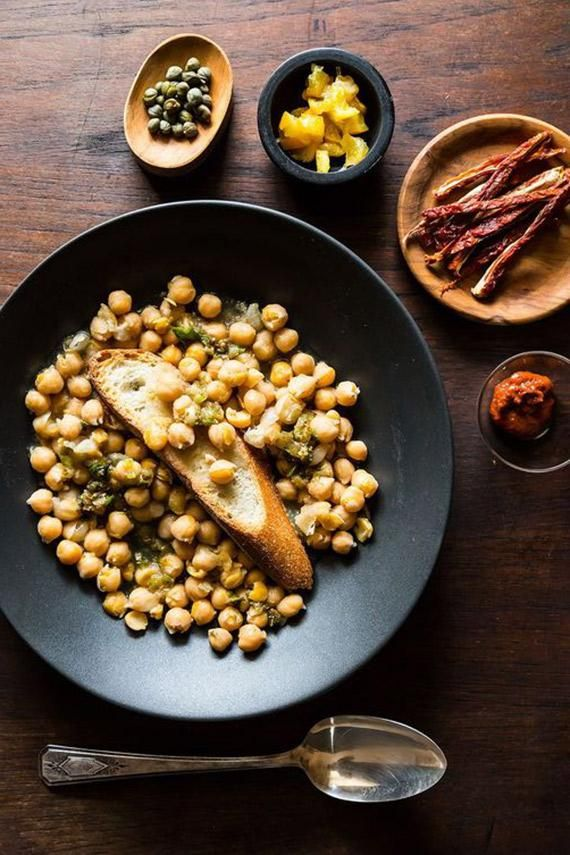 ... Spicy Chickpea Stew) | Recipe | Spicy, Preserved lemons and Chickpeas