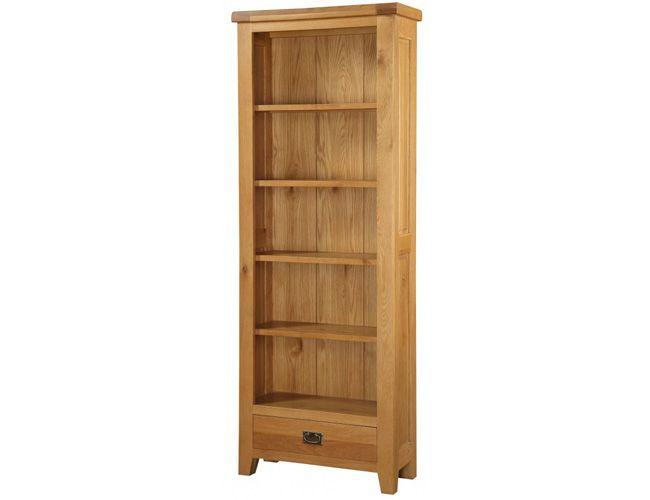 Acorn Solid Oak Bookcase Large
