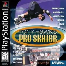 Complete Tony Hawk's Pro Skater - PS1 Game