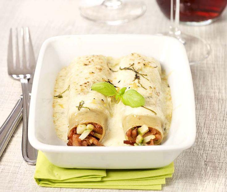 Cannellonis veggie aux courgettes