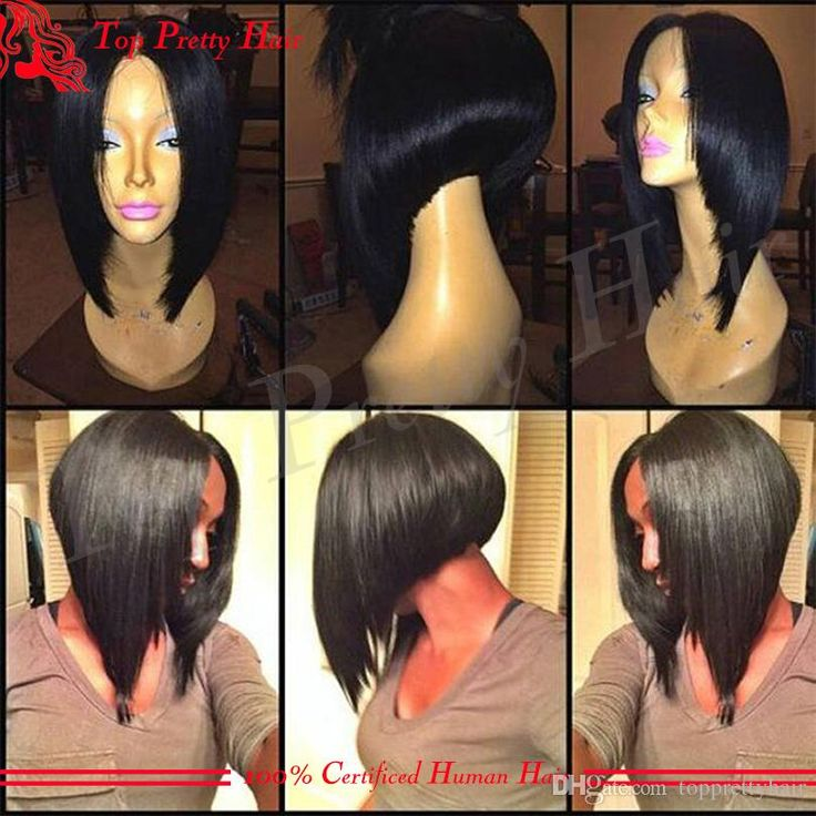 40 best inverted bob images on pinterest braids hairstyles and grade 7a short cut 100 virgin brazilian hair glueless full lace human hair wigs bob lace front wigs for black women middle part pmusecretfo Image collections