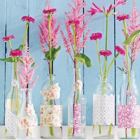 Pretty in Pink: Duftende Blumendeko in Knalltönen