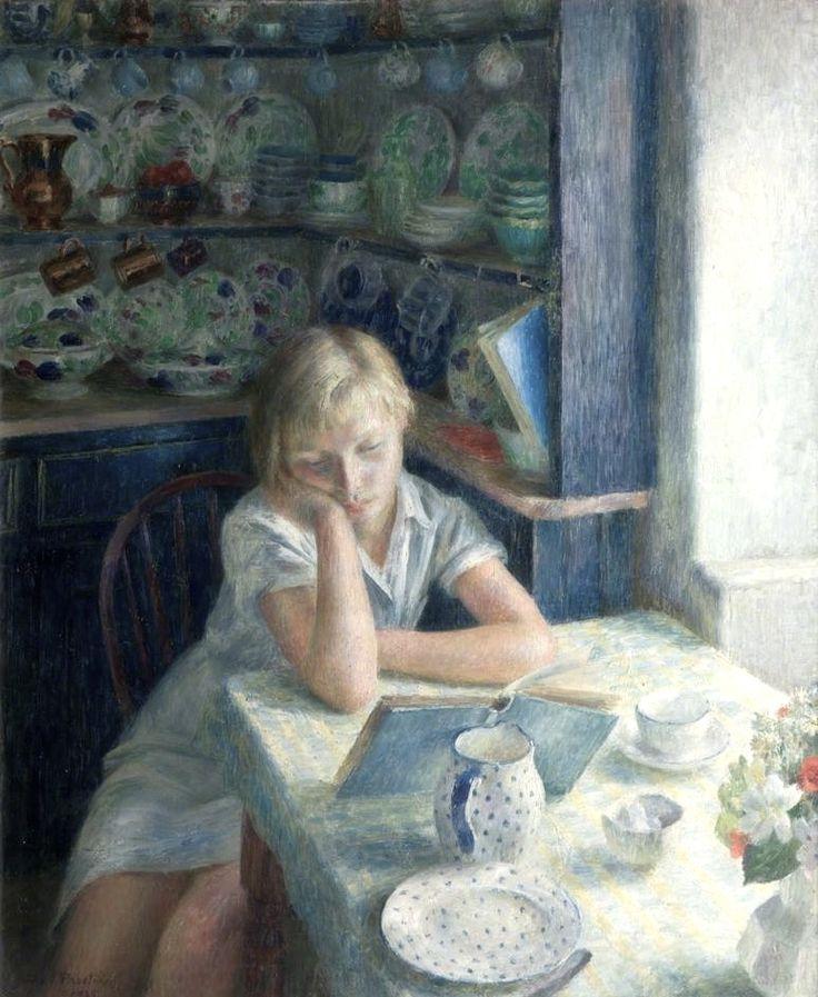 The Quiet Hour. Dod Procter (1890-1972).