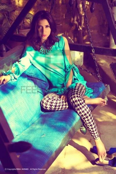 Pakistani designer Feeha Jamshed's stunning shoot with model/actor Mahira Khan...SHOE LOVE!