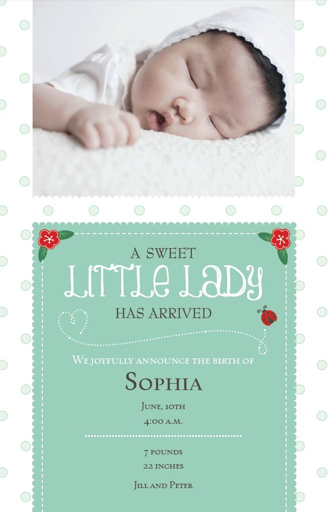 13 Best Baby Shower Invitations And Birth Announcements Images On