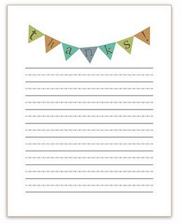 Thank-you Note template for kids.....finally found one!