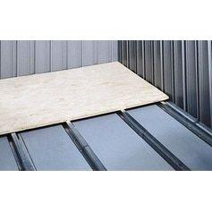 Arrow Sheds FB1014-A Floor Frame Kit for 10'x11', 10'x12', 1, Silver steel
