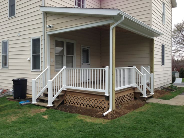 how to build deck railing on existing deck